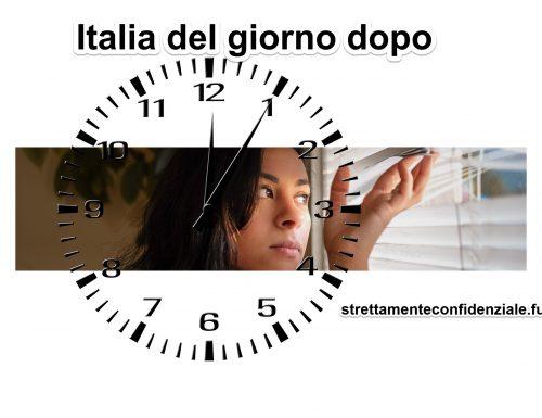 Italia del giorno dopo